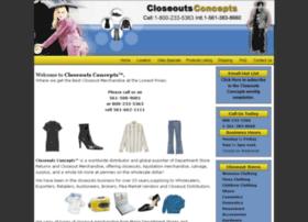 closeoutsconcepts.com