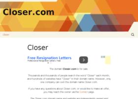 closer.com