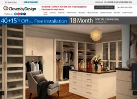 closetsbydesign.com