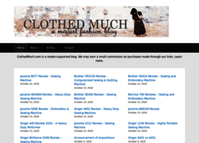clothedmuch.com