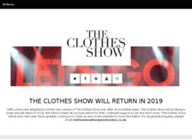 clothesshowlive.com