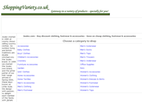 clothing-footwear-accessories.shoppingvariety.co.uk