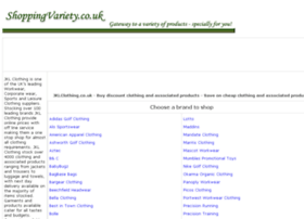 clothing-requirements.shoppingvariety.co.uk