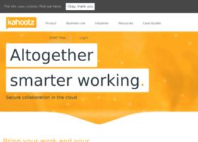 cloud-collaboration.kahootz.com