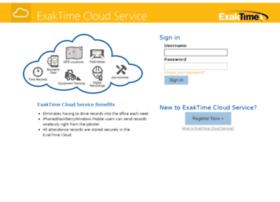 cloud.exaktime.com