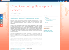 cloudcomputingdevelopment.blogspot.in