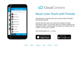 Cloudcontacts.com