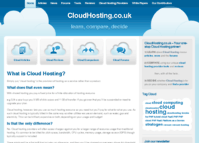 cloudhosting.co.uk