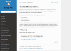 cloudinit.readthedocs.org