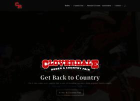 cloverdalerodeo.com