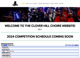 cloverhillshowchoir.com