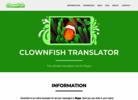 Clownfish-translator.com