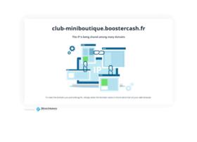 club-miniboutique.boostercash.fr