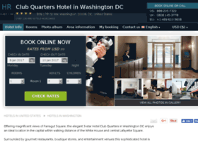 club-quarters-washington.h-rez.com