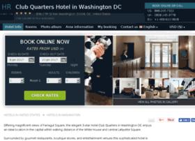 club-quarters-washington.h-rez.com