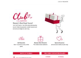 club.clarinsusa.com