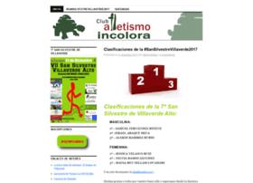 clubatletismoincolora.wordpress.com
