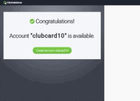 clubcard10.clickwebinar.com