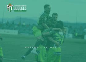 clubdeportivoguijuelo.com