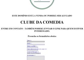 clubedacomedia.com.br
