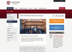clubs.harvard.edu