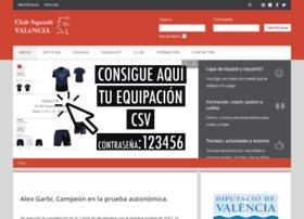 clubsquashvalencia.com