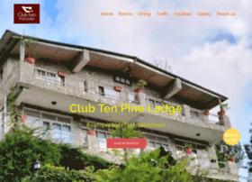 clubtenpinelodge.com