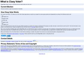clueyvoter.com