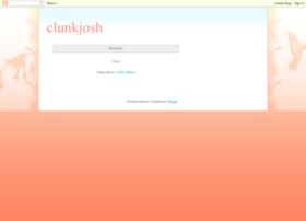 clunkjosh.blogspot.com