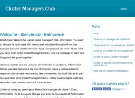 clustermanagersclub.eu