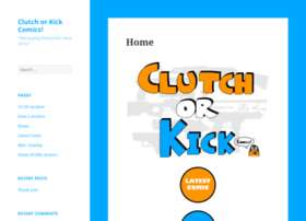 clutchorkickcomics.com