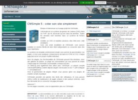 cmsimple.fr