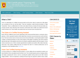 cnacertificationtraininghq.com