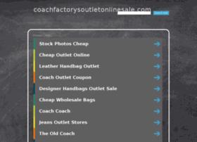 coachfactorysoutletonlinesale.com