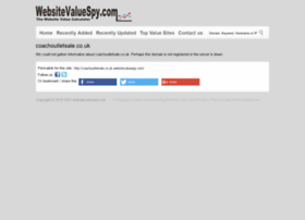 coachoutletsale.co.uk.websitevaluespy.com