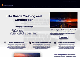 coachtrainingalliance.com
