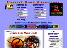 coastalbendmenuguide.com