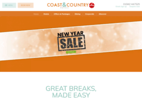 coastandcountryhotels.com