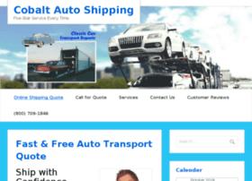 cobaltautoshipping.com