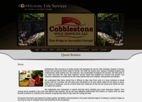 cobblestonetitle.com