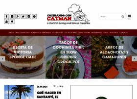 cocinandoconcatman.com