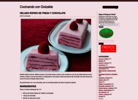 cocinandocongoizalde.com