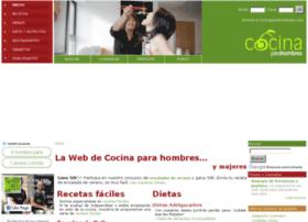 cocinaparahombres.com