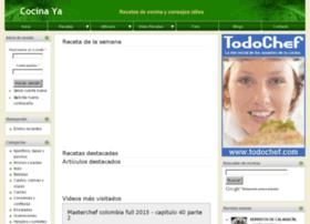 cocinaya.com