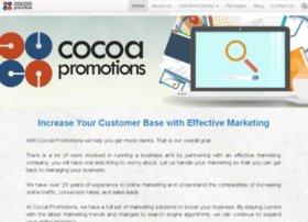cocoapromotions.co.uk