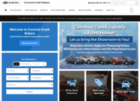 coconutcreeksubaru.com