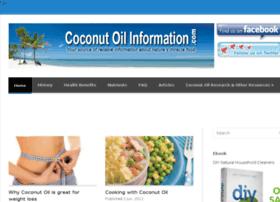 coconutoilinformation.com
