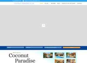 coconutparadisevillas.com