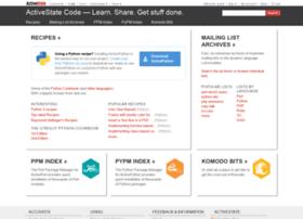 code.activestate.com