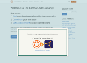 code.coronalabs.com